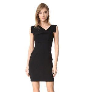 BLACK HALO Jackie O Mini Dress Black Sz 6